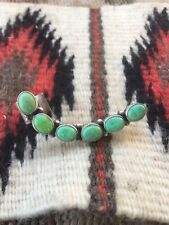 Navajo Turquoise & Sterling Silver Cuff Earring