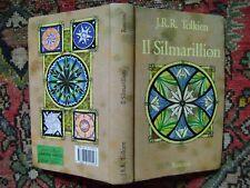 """J.R.R. Tolkien """"IL SILMARILLION"""" Rusconi 11° ed. 1992 + mappa"""