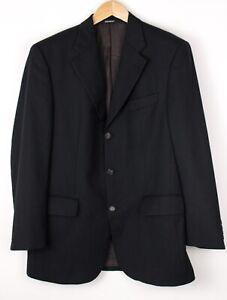 Yves Saint Laurent Hommes Laine Polyamide Habillé Blazer Taille M (50 - 40)