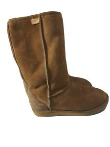 UGG Boots Women Men Boots Tall Classic Double Face Sheepskin Water Resistant