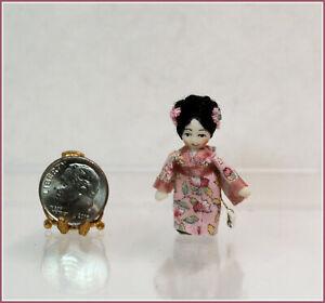 Dollhouse Miniature Ethel Hicks Kameko Angel Children Doll