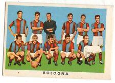 FIGURINA CARTONATA  CALCIATORI  RASA  1961-62  SQUADRA  DEL  BOLOGNA