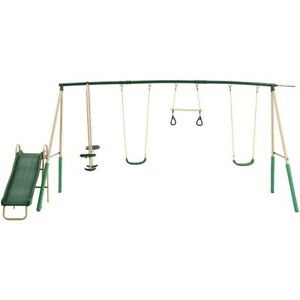 Action 6 Station Swing Set -  Order now for Christmas Delivery