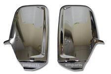Mercedes Sprinter Door Wing Mirror CHROME Back Casing Cover  Pair 2006 Onwards