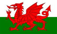 Drapeau Pays de Galles, Gallois, Wales 150 x 90 cm Neuf Match Décoration