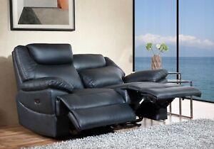 Elektrisches Leder Fernsehsofa Relaxsofa Sofa Fernsehsessel 3581ee-2-S