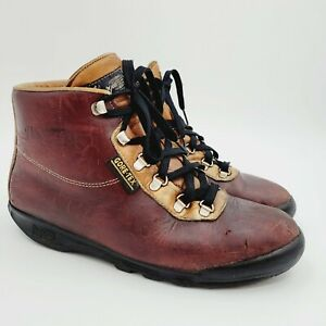 Vasque Vintage Skywalk GTX Gore-Tex Leather Hiking Boots Sz 10 Made in Italy