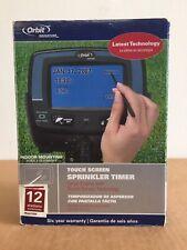 New Orbit Signature 57936 Touch Screen 6 Station Indoor Sprinkler Timer