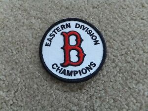 Boston Red Sox Eastern Division Champions Patch BRAND NEW  2.75 inches
