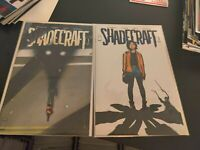 SHADECRAFT #1 A+B NM- 1st Print JOCK VAR Henderson Garbett IMAGE NETFLIX SHOW