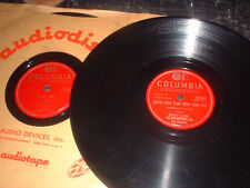 78RPM 2 Columbia by Buddy Clark, After Graduation Day/Je Vou, 1 Sunday, Brush  V