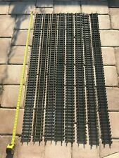 """G Scale - Aristocraft - Lot of (8) 5ft 60"""" Straight Brass Track Sections"""