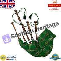 SH Highland Bagpipe Learning Beginner Full Kit/Irish Bagpipes/Gaita/Dudelsack