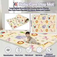 Folding Picnic Outdoor Playroom Portable Baby Play Crawling Mat Non-Slip