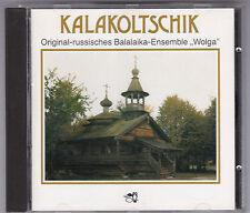 """ORIGINAL-RUSSISCHES BALALAIKA-ENSEMBLE""""WOLGA"""" - KALAKOLTSCHIK CD FULL SILVER"""