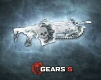 Gears of War 5 Ice Block Lancer Weapon Skin Dlc + Supply Drops XBox one Gears 5