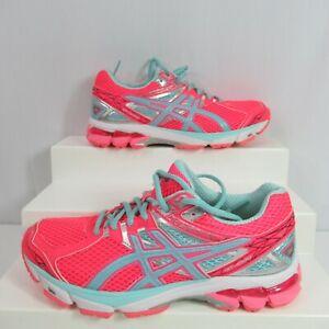 Asics GT 1000 Running Shoes Sneakers Diva Pink Ice Blue Size 7 T4K8N Speva