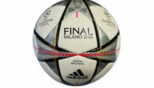2016 Match Used Real Madrid Manchester City Soccer Ball Cristiano Ronaldo Signed