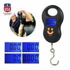 Digital Fish Scale Postal Hanging Hook Luggage Weight LCD Mini Portable 110 lb.
