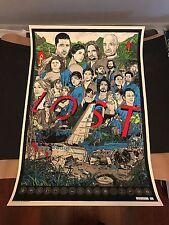 Tyler Stout Art Poster Print LOST Mondo Aaron Horkey Shepard Fairey Olly Moss