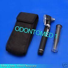 Fiber Optic Mini Otoscope Black Color (Diagnostic Set)