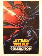 STAR WARS 3Day Custom Window Coverings Collection Promotional Flyer 2004 SDCC
