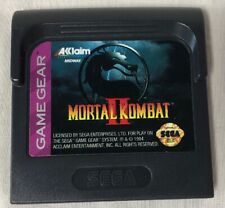 Mortal Kombat 2 II Sega Game Gear 1993 Game Only