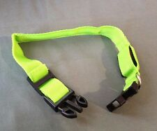 Oxgord LED Light Up Dog Safety Collar Green Small