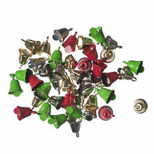 100x Bells Liberty 10mm Silver 100 PK Sewing Craft Tool Hobby Art UK