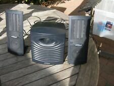 MONSOON MULTI-MEDIA MH-500 Speakers Subwoofer And Power Cord