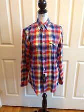 Polo Ralph Lauren Plaid Button Down Long Shirt Men's Size Small