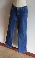 "Kookai indigo denim jeans stretch bootcut  size 33  (42) inside leg 32"""