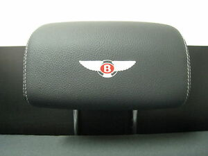 Headrest Badge decal sticker *BENTLEY LOGO* 4-pcs