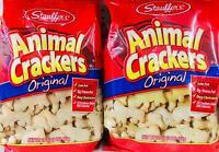 2Pk Stauffers Original Animal Crackers 16 Oz *~* FAST FREE SHIPPING ! *~*