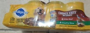 11 Cans Pedigree Choice Cuts in Gravy with Beef Wet Dog Food, 13.2 Oz. Missing 1