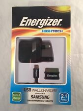 ENERGIZER USB WALL CHARGER NEW AND BOXED FOR SAMSUNG (SMARTPHONES AND TABLETS)