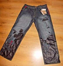 Arme 'Welcome To The Hood' Loose Fit Jeans Urban Hip hop Rare Item Size 42-L34