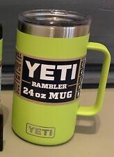 Yeti 24 oz Chartreuse Mug