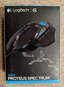 Logitech G502 Proteus Core Spectrum RGB Tunable 12000 DPI Gaming Mouse