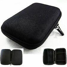 "Black Carrying Case Shockproof Pouch Bag For 5"" GPS Cobra 5550 Garmin nuvi 2450"