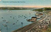 NEW YORK CITY – Hudson River and Palisades