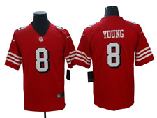 NWT #8 Steve Young San Francisco 49ers Nike Vapor Untouchable Limited Jersey RED