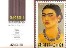 #3509 First Day Ceremony Program 34c Frida Kahlo Stamp
