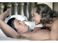 PHOTO LA PISCINE - ALAIN DELON ET ROMY SCHNEIDER 11X15 CM  # 28