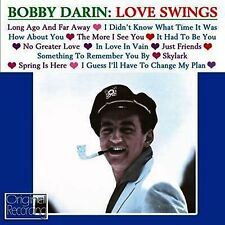 CD BOBBY DARIN LOVE SWINGS LONG AGO AND FAR AWAY NO GREATER LOVE HOW ABOUT YOU