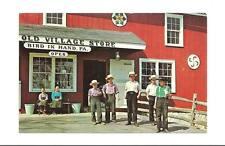 BIRD IN HAND PA Old Village Store Amish Boys Girls Vtg