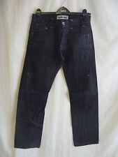 "Mens Jeans - Topman, W30"", L32"", 'Twister' leg shape, black/grey, casual - 1116"