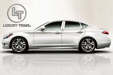 Fits Infiniti M Class Stainless Chrome Pillar Posts by Luxury Trims 2011-2014 8p