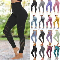 Women's Yoga Leggings Pants Ladies Fitness Running Gym Exercise Sports Trousers