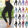 Women's Yoga Leggings Pants Ladies Fitness Running Gym Exercise Sports Trousers